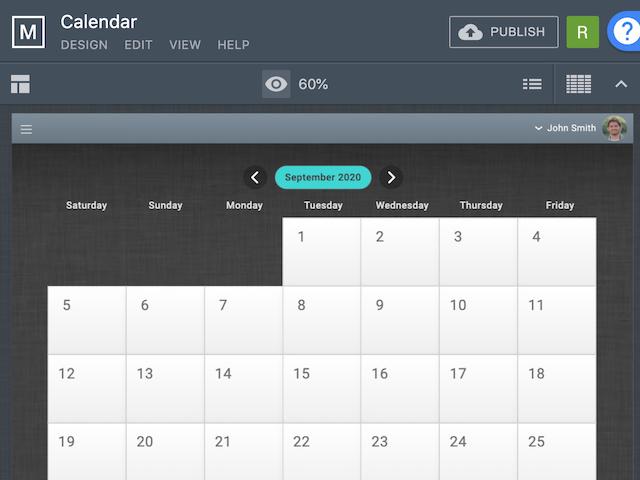 Calendar - screenshot 1