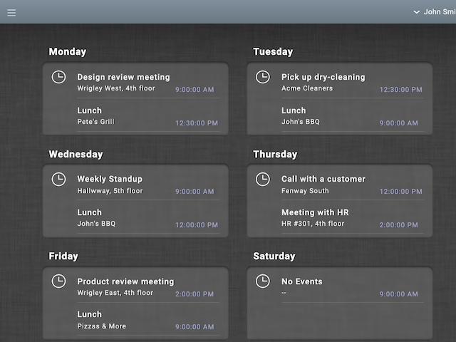Calendar - screenshot 4