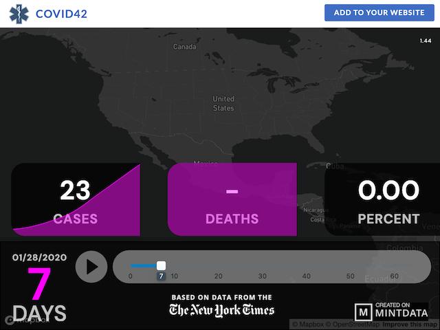 COVID-19: 3D Visualization - screenshot 2