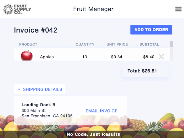 Fruity Invoices - screenshot 3