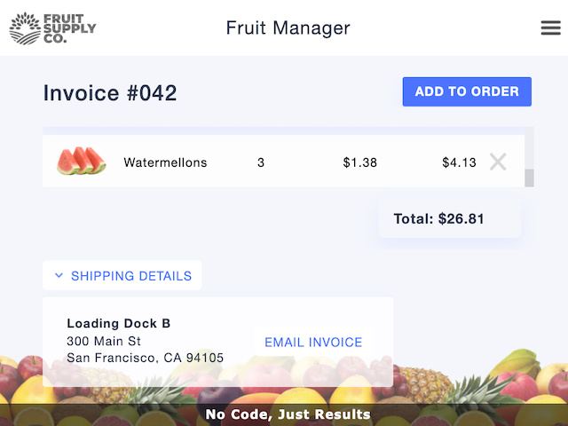 Fruity Invoices - screenshot 4