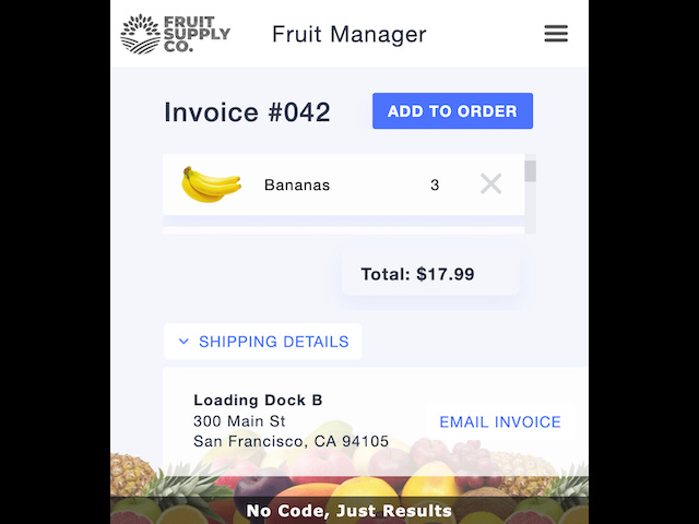 Fruity Invoices - screenshot 6